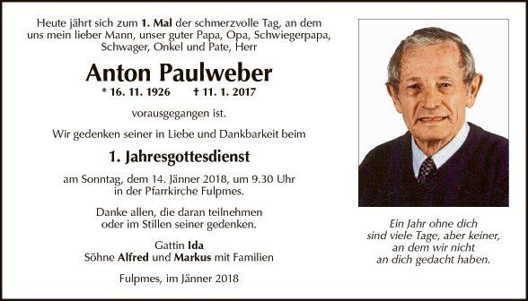 Anton Paulweber