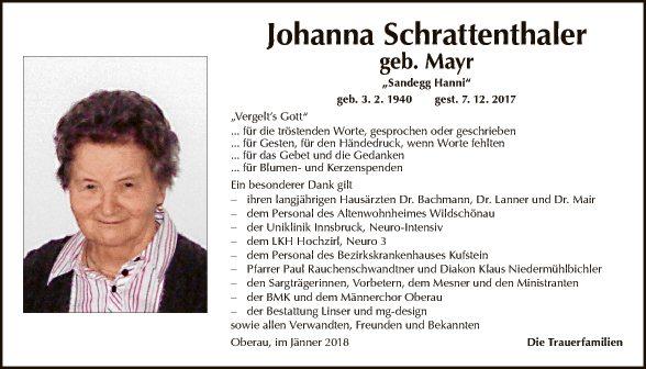 Johanna Schrattenthaler