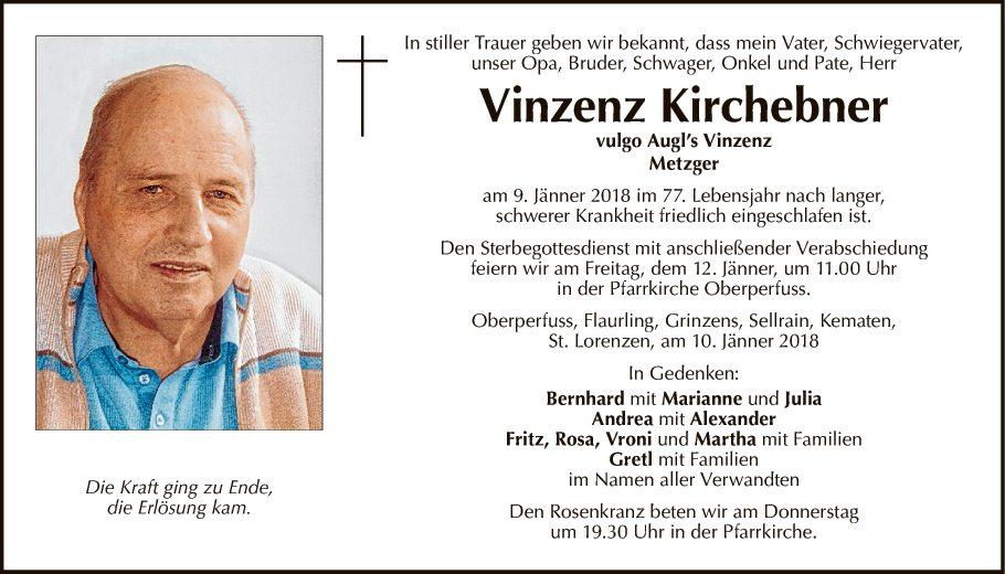 Vinzenz Kirchebner