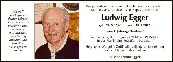 Ludwig Egger