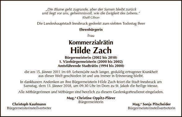 KR Hilde Zach