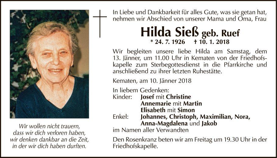 Hilda Sieß