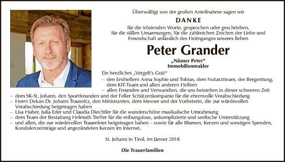 Peter Grander