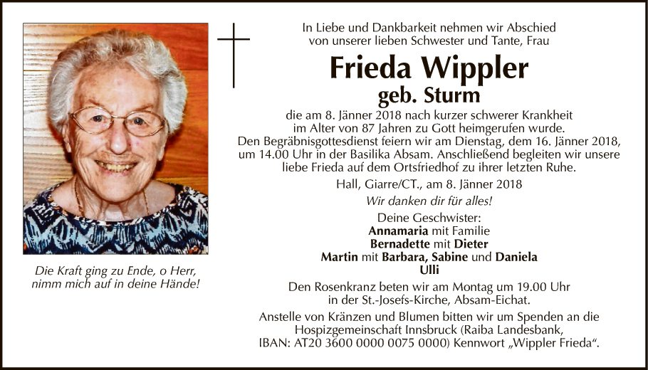 Frieda Wippler