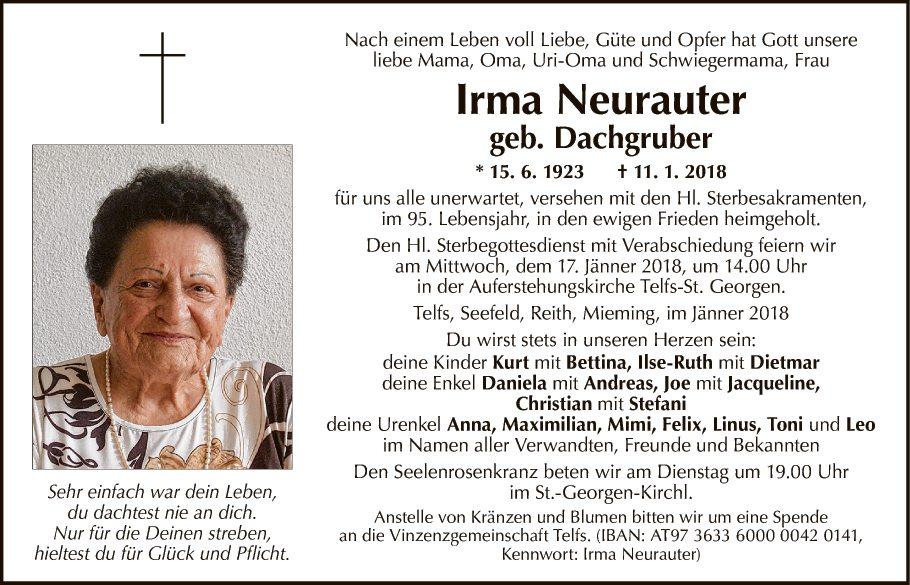 Irma Neurauter