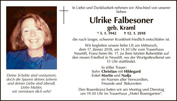 Ulrike Falbesoner