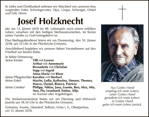 Josef Holzknecht