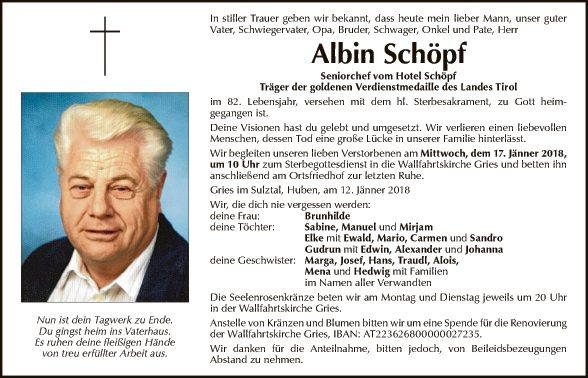Albin Schöpf