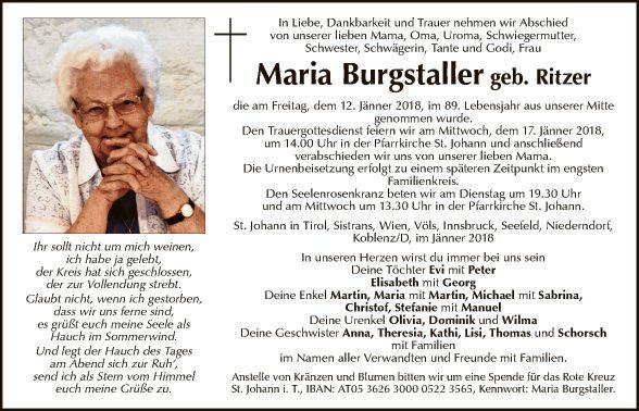 Maria Burgstaller