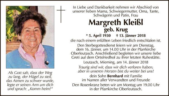 Margreth Kleißl