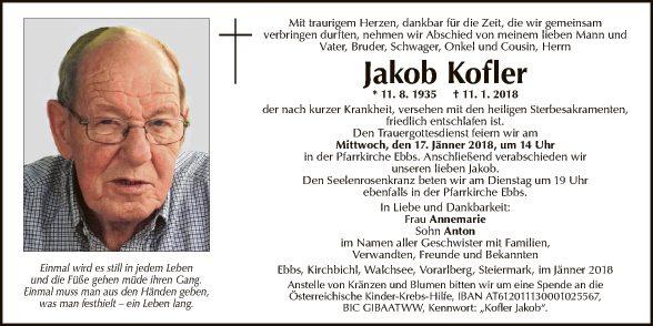 Jakob Kofler