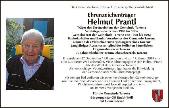 Helmut Prantl