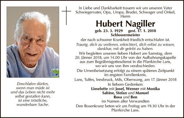 Hubert Nagiller