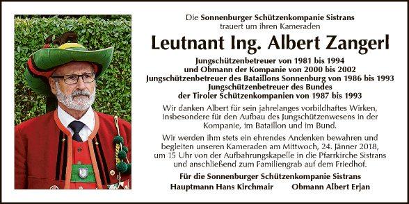 Ing. Albert Zangerl