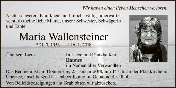 Maria Wallensteiner
