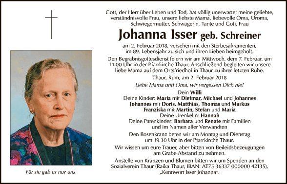 Johanna Isser