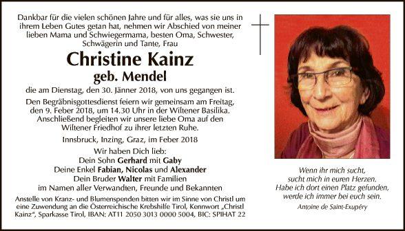Christine Kainz