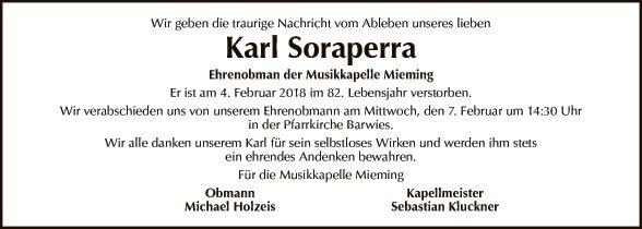 Karl Soraperra