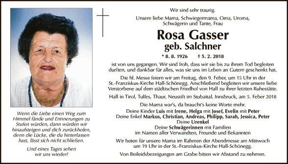 Rosa Gasser