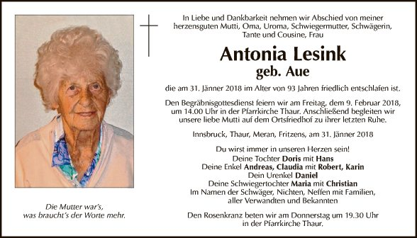 Antonia Lesink