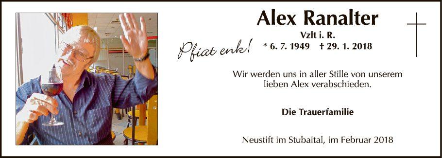 Alex Ranalter