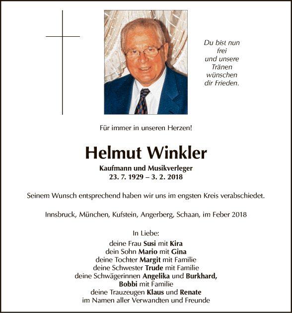Helmut Winkler