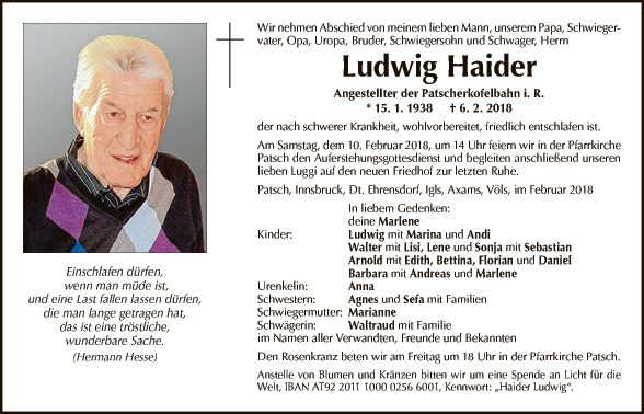 Ludwig Haider
