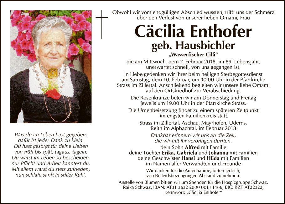 Cäcilia Enthofer
