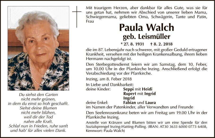 Paula Walch
