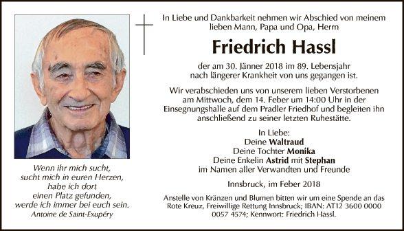 Friedrich Hassl