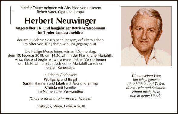 Herbert Neuwinger