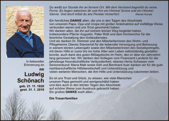 Reg. Rat Ludwig Schönach
