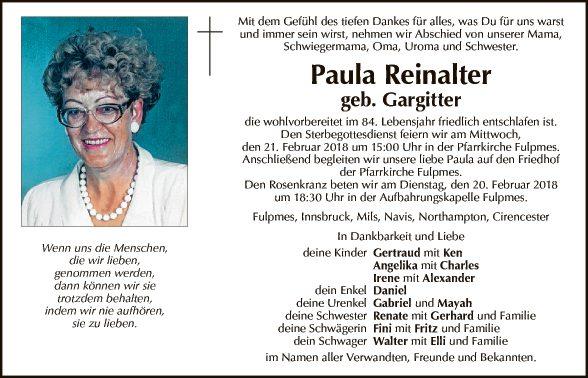 Paula Reinalter
