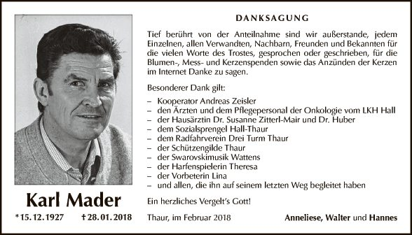 Karl Mader