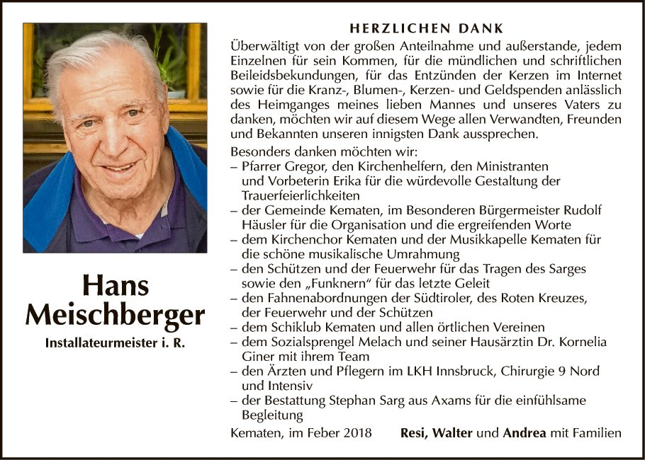 Hans Meischberger
