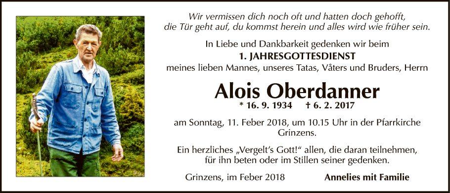 Alois Oberdanner