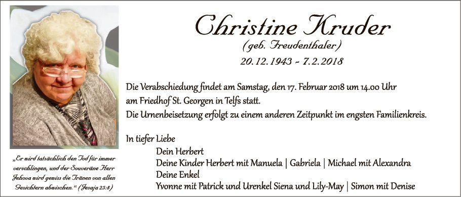 Christine Kruder