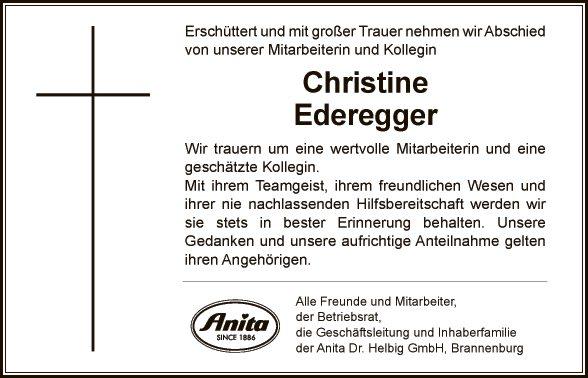 Christine Ederegger