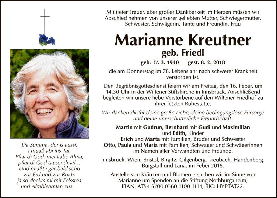 Marianne Kreutner