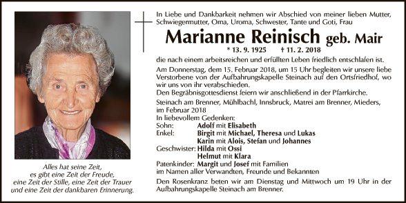 Marianne Reinisch