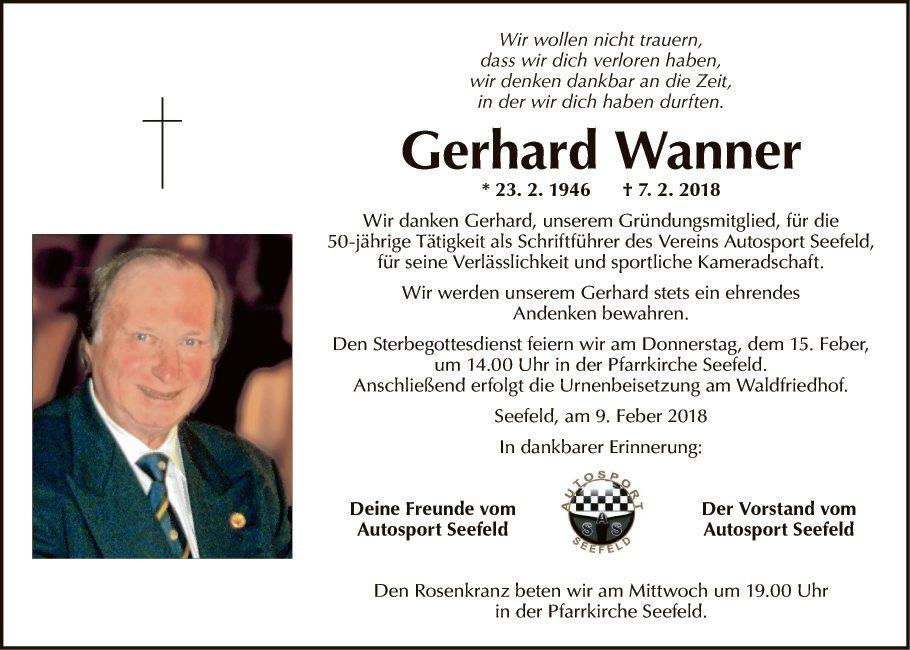 Gerhard Wanner