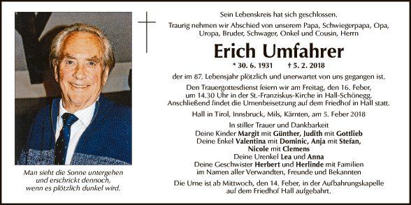 Erich Umfahrer
