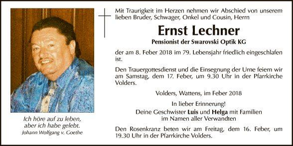 Ernst Lechner