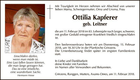 Ottilia Kapferer