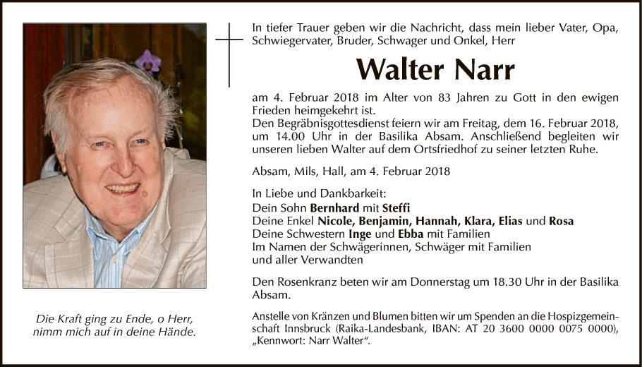Walter Narr