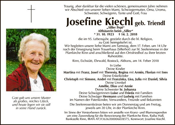 Josefine Kiechl