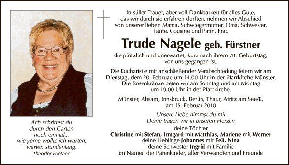 Trude Nagele