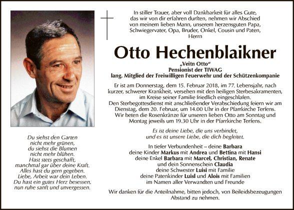 Otto Hechenblaikner