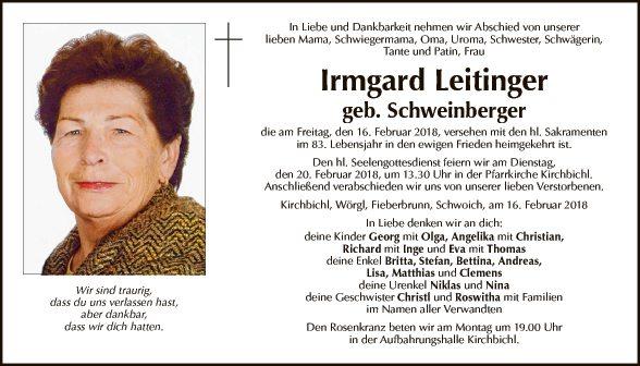 Irmgard Leitinger