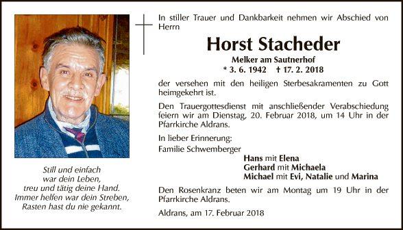 Horst Stacheder